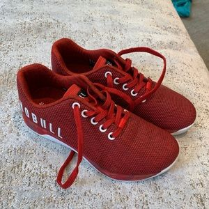 Red Nobull Shoes - Size 7